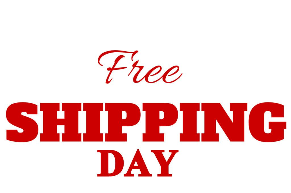 National Free Shipping Day – December 14, 2020