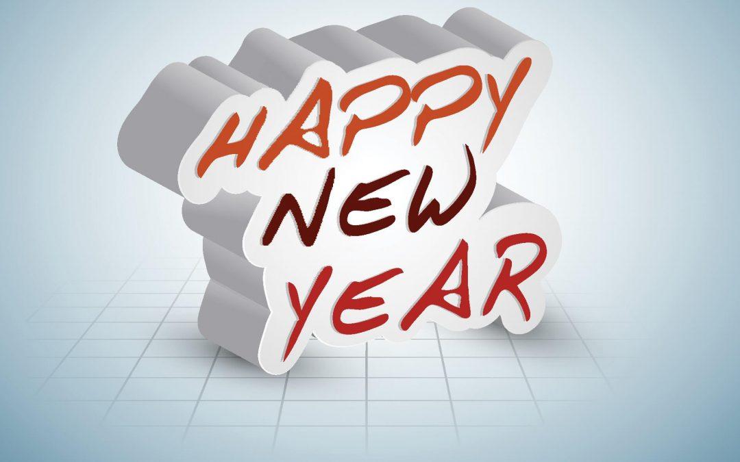 Happy New Year's Day – January 1, 2019