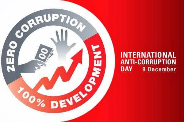 International Anti-Corruption Day – December 9, 2020