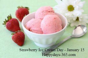 Strawberry Ice Cream Day