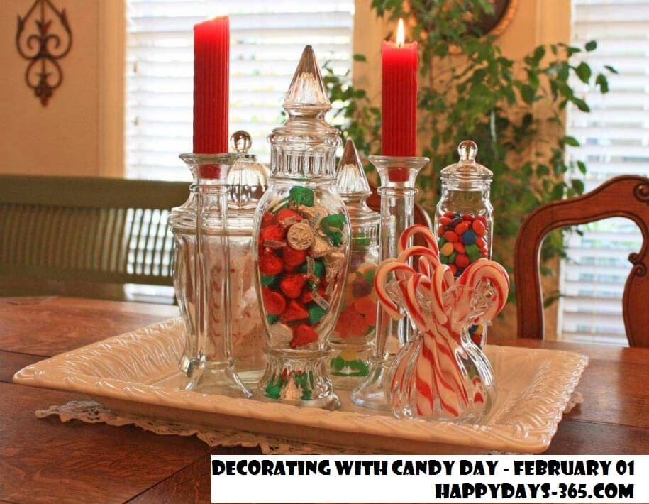 Decorating With Candy Day – February 1, 2020