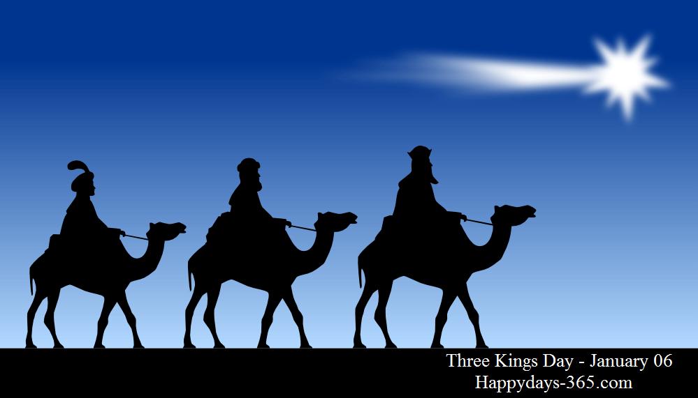 Three Kings Day – January 6, 2020