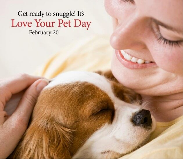 National Love Your Pet Day - February 20