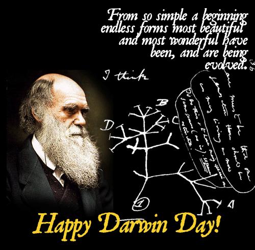 International Darwin Day 2018 - February 12