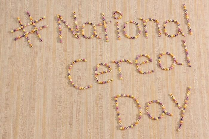 National Cereal Day – March 7, 2020