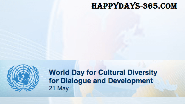 World Day for Cultural Diversity for Dialogue and Development – May 21, 2020