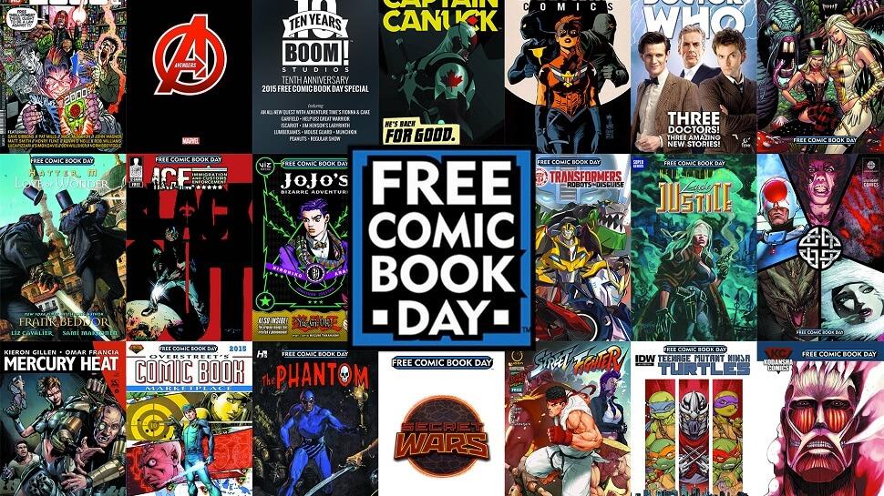Free Comic Book Day