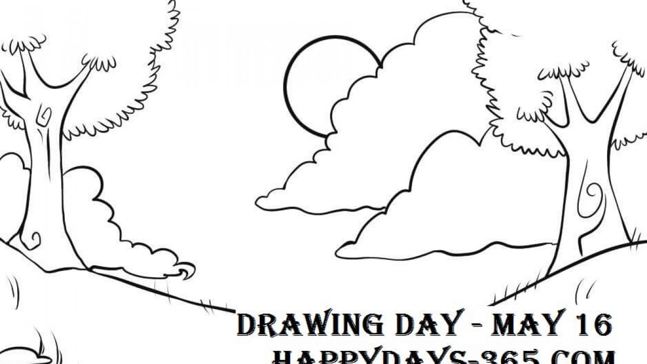 National Drawing Day May 16 2020 Happy Days 365