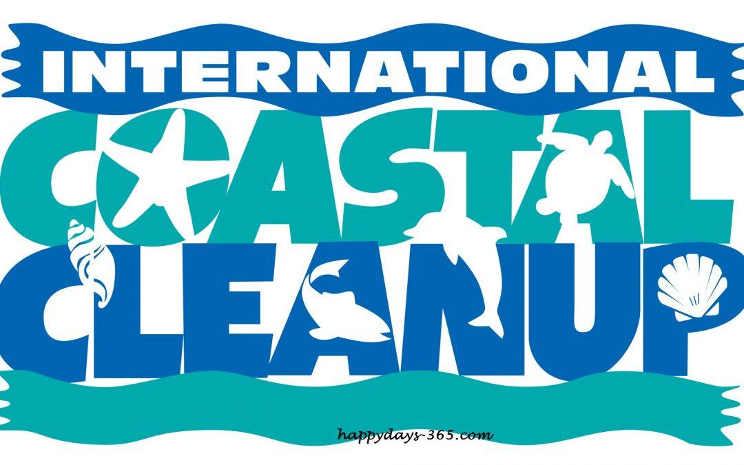 International Coastal Cleanup Day – September 21, 2019
