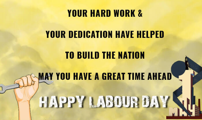 Happy International Workers Day 2019