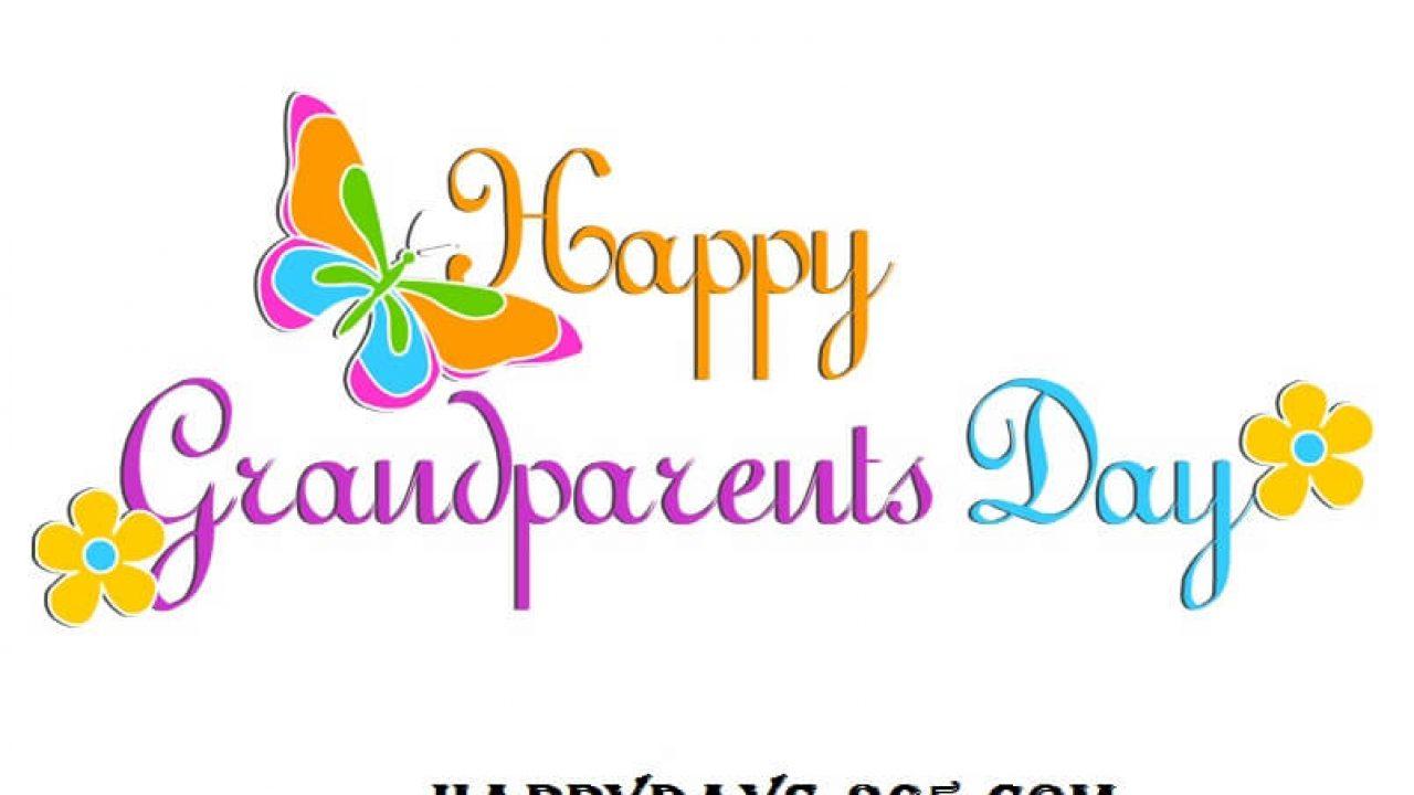 National Grandparents Day September   Happy Days