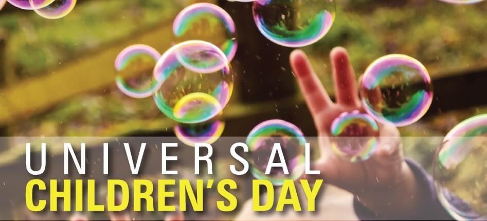 Universal Children's Day – November 20, 2020