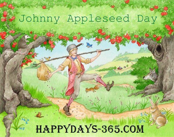 Johnny Appleseed Day – September 26, 2019