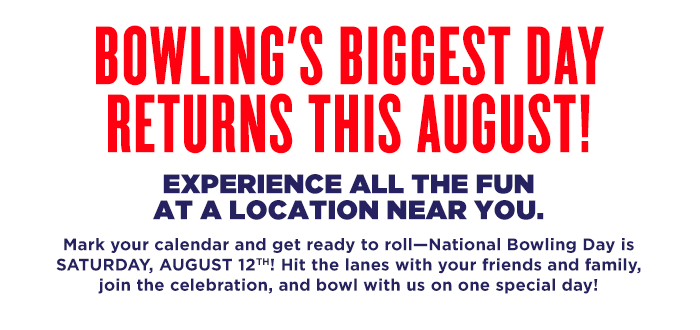 National Bowling Day - August 12