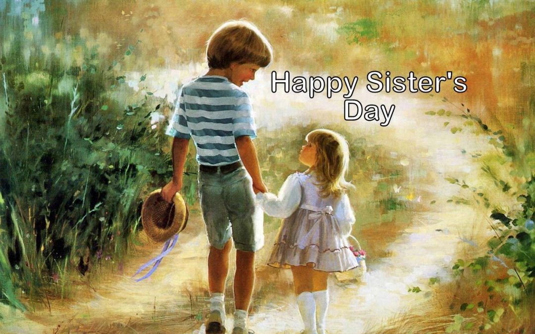 National Sister's Day – August 2, 2020