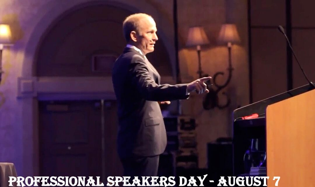 Professional Speakers Day – August 7, 2020
