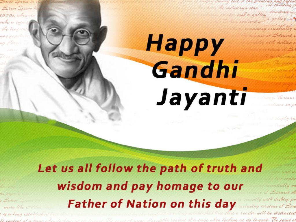 Happy Gandhi Jayanti