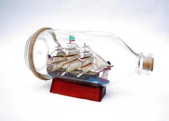 Ship in a Bottle Day