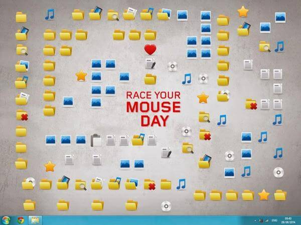 Race Your Mouse Around The Icons Day – August 28, 2018