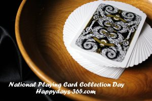 National Playing Card Collection Day