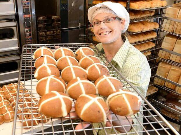 National Hot Cross Bun Day