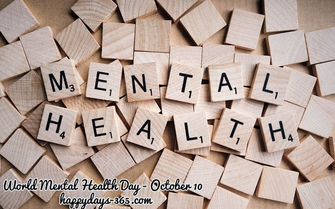 World Mental Health Day – October 10, 2019