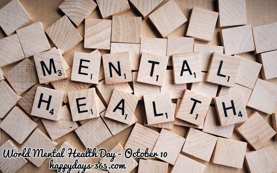 World Mental Health Day – October 10, 2018