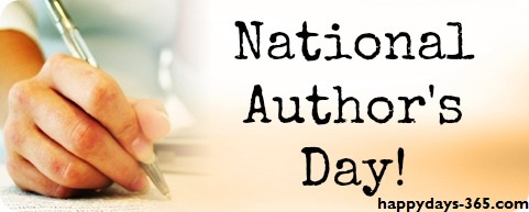 National Author's Day – November 1, 2019