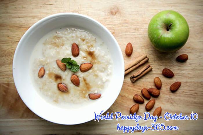 World Porridge Day – October 10, 2019