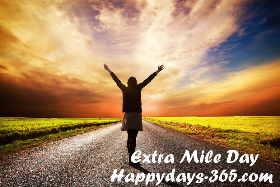 Extra Mile Day – November 1, 2019