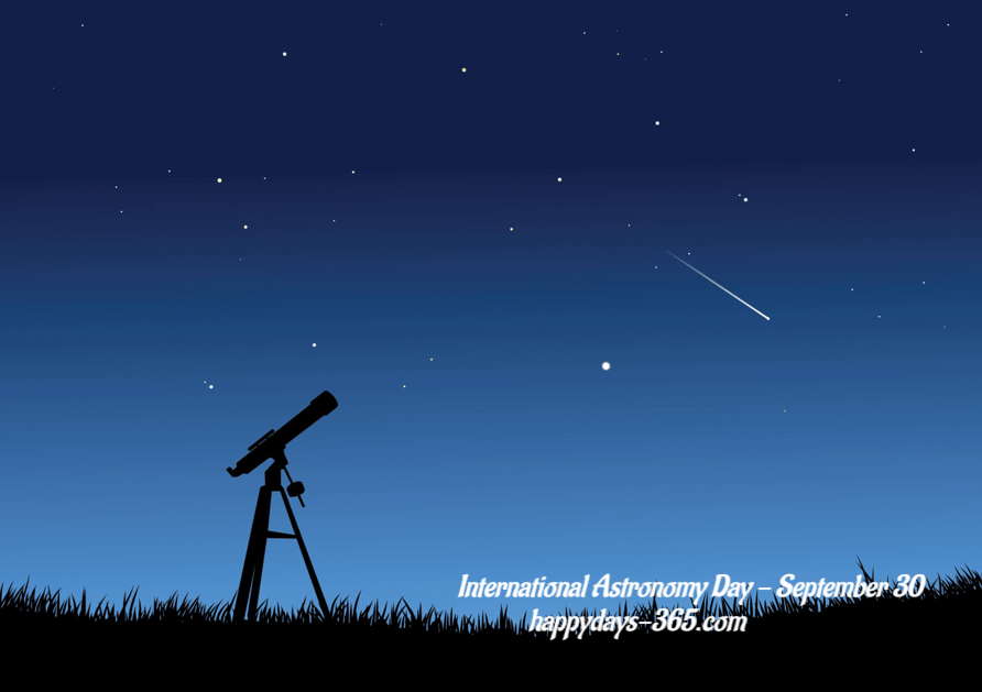 International Astronomy Day – October 13, 2018