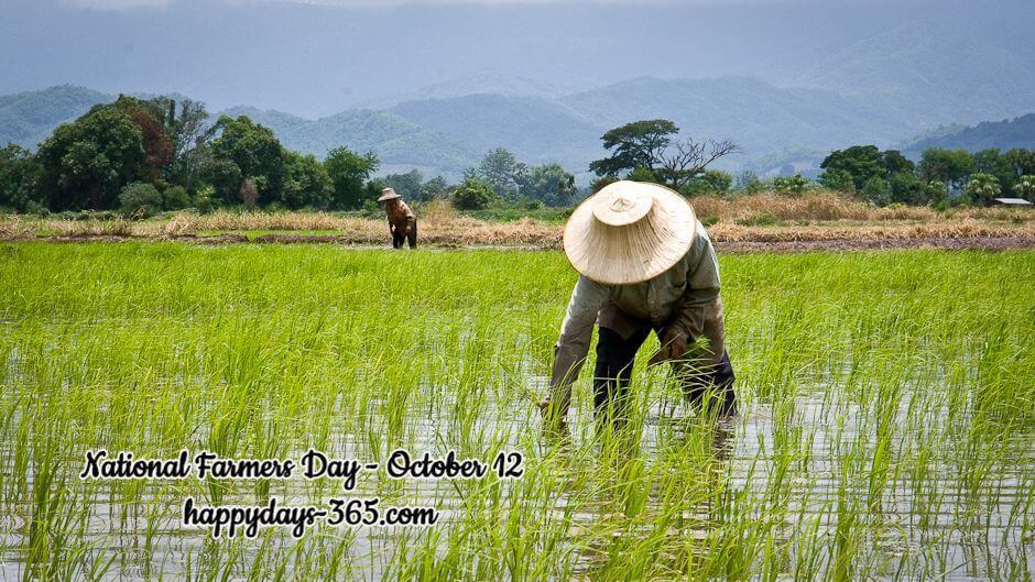 National Farmers Day – October 12, 2019