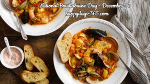 National Bouillabaisse Day