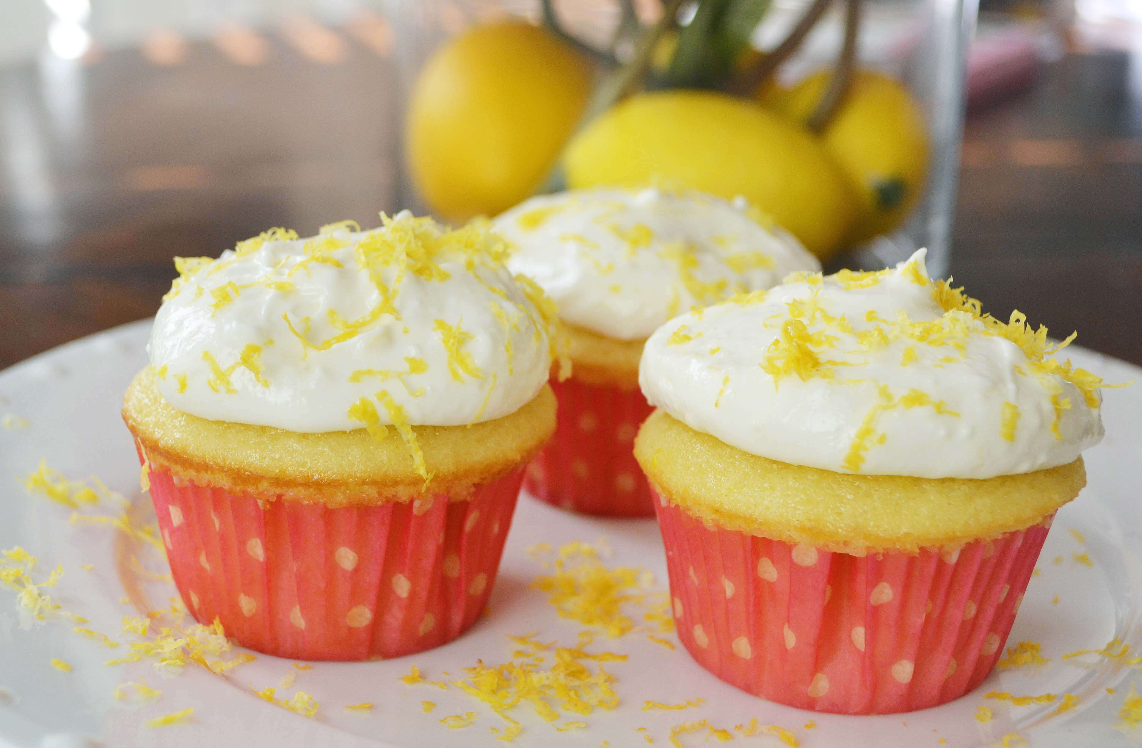 National Lemon Cupcake Day