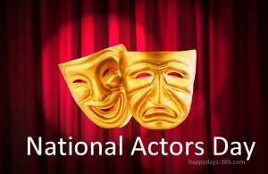 National Actors Day