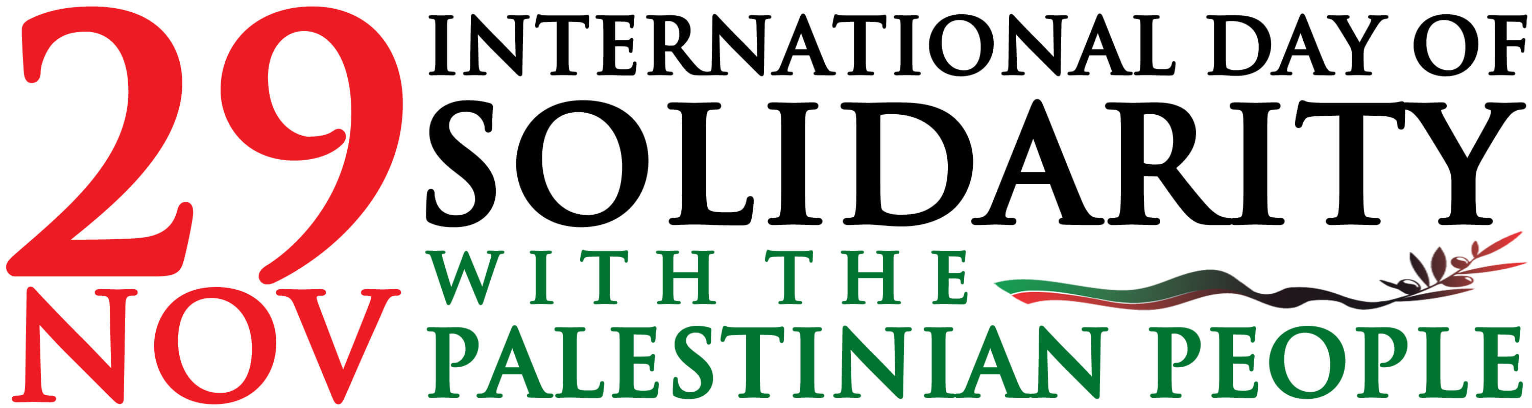 International Day of Solidarity with the Palestinian People