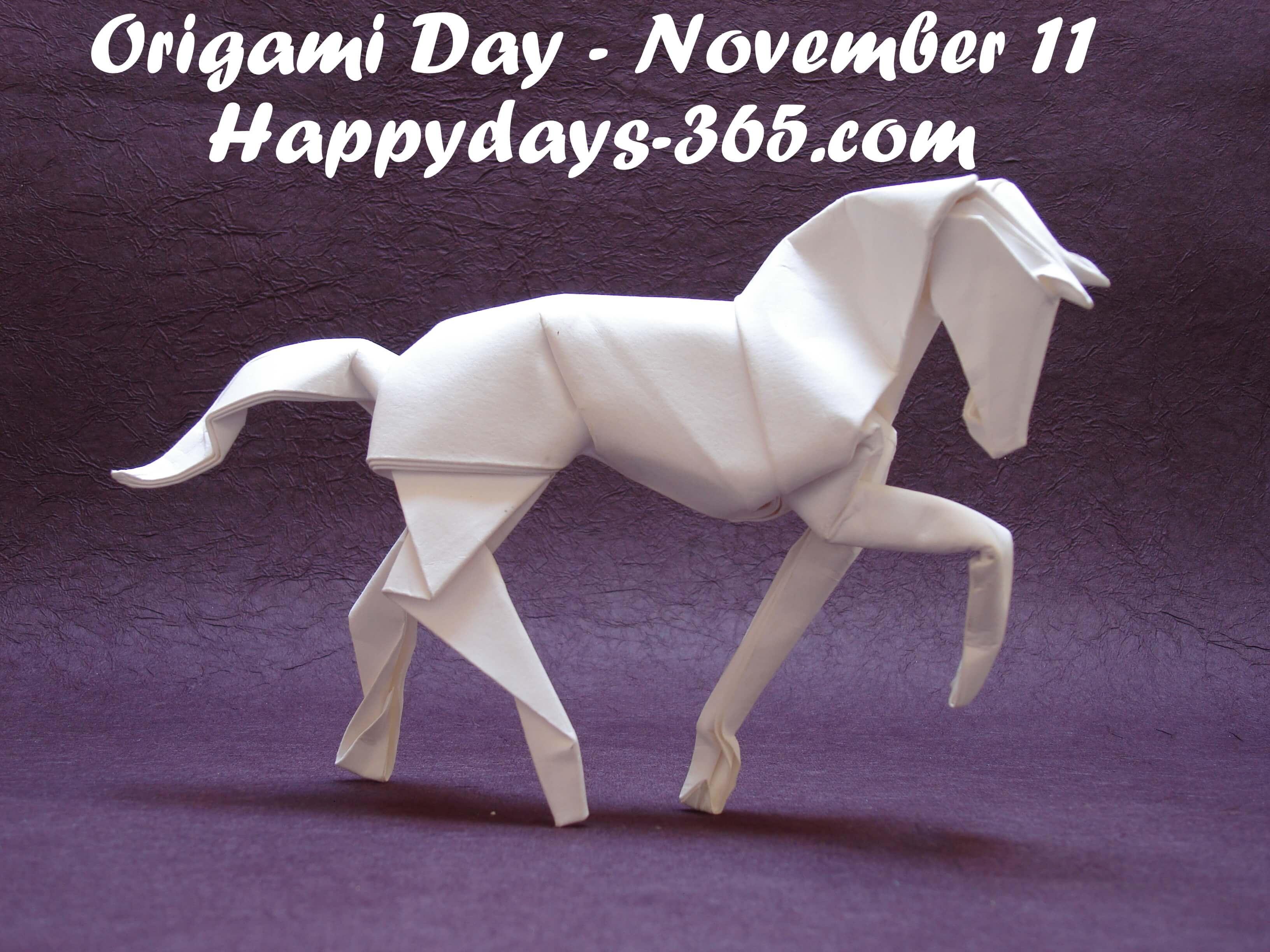 World Origami Day – November 11, 2018