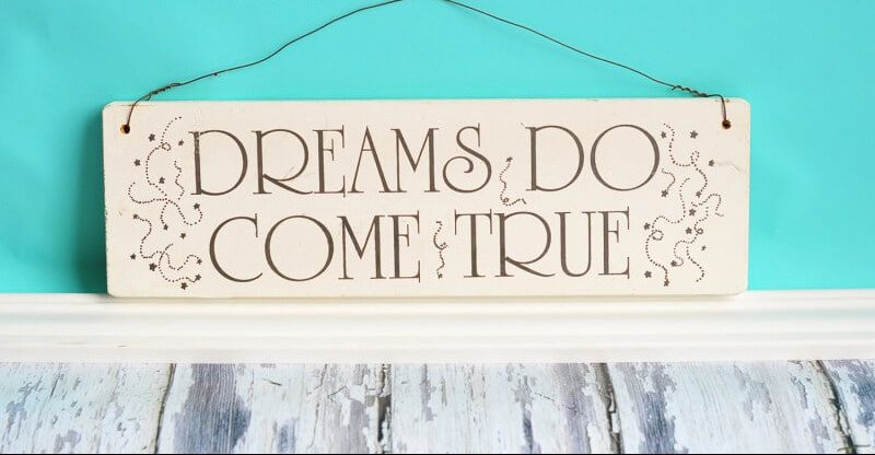 Make Your Dreams Come True Day – January 13, 2021