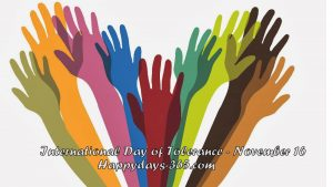 Tolerance Day 2017