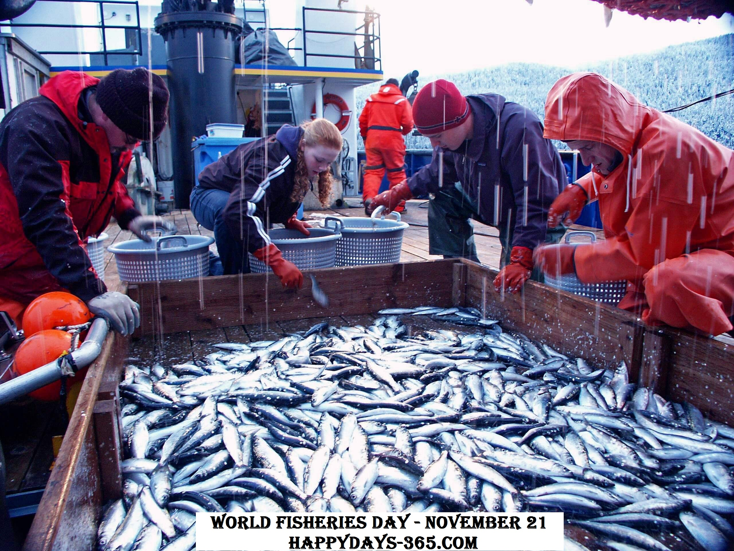 World Fisheries Day – November 21, 2019