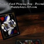 National Card Playing Day 2017