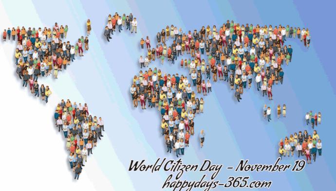 World Citizen Day – November 19, 2019