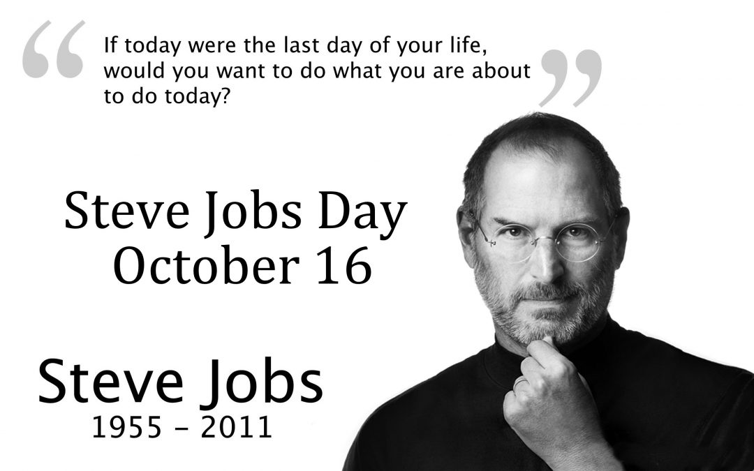 Steve Jobs Day – October 16, 2019