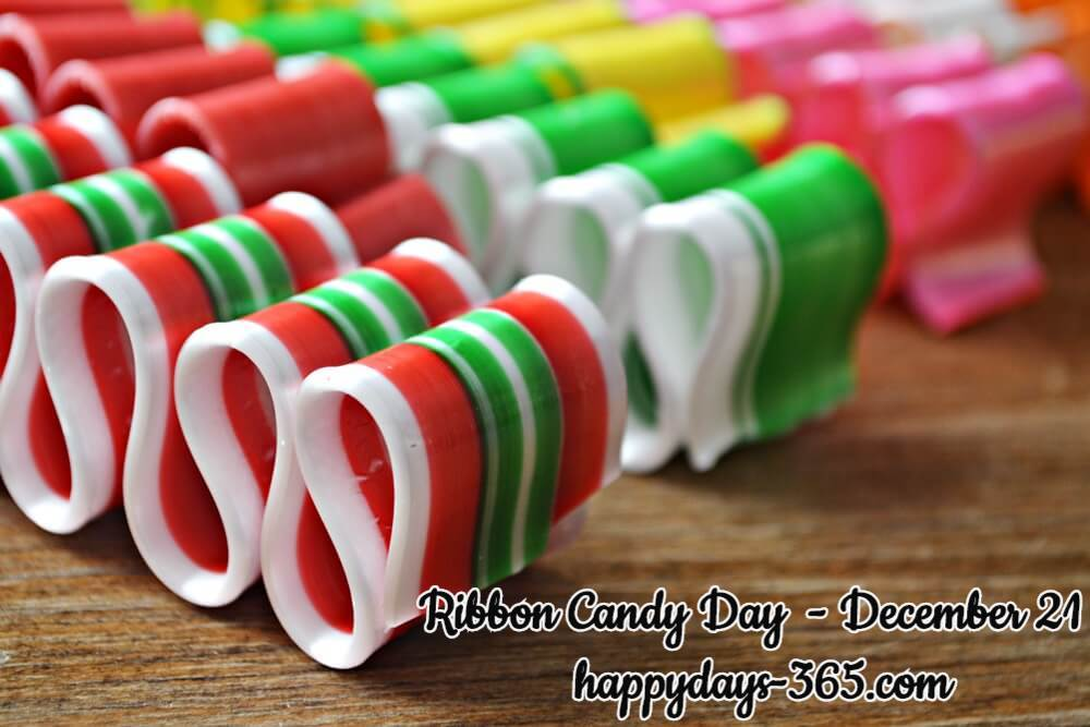 Ribbon Candy Day – December 21, 2019