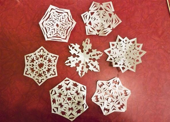 Make Cut Out Snowflakes Day