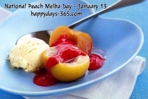 National Peach Melba Day