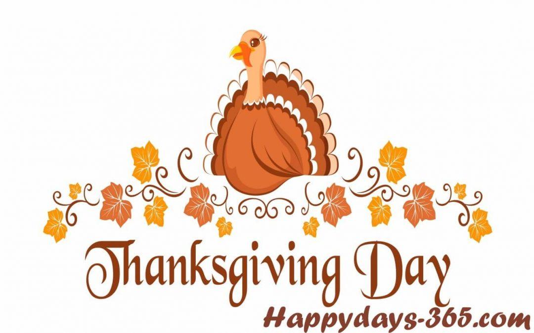 Happy Thanksgiving Day – November 28, 2019