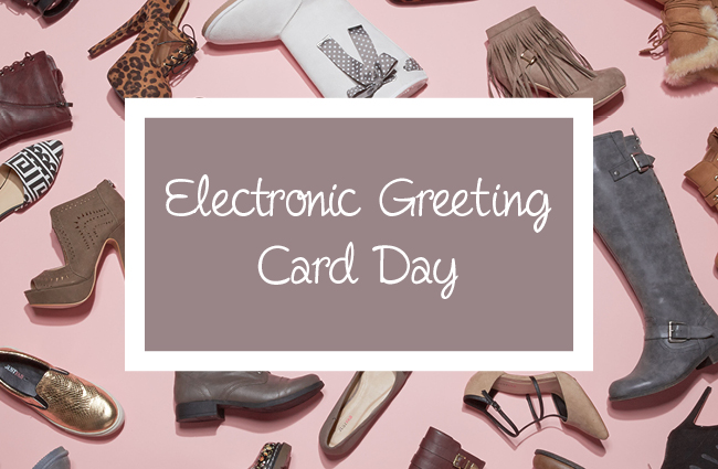 Electronic Greeting Card Day – November 29, 2019