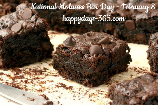National Molasses Bar Day – February 8, 2019