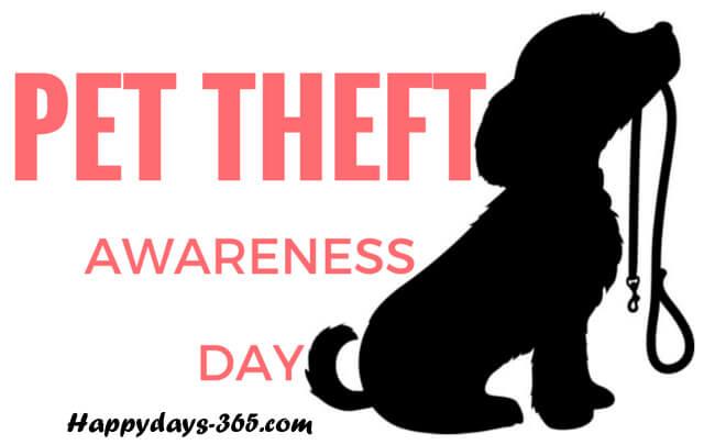 Pet Theft Awareness Day – February 14, 2020